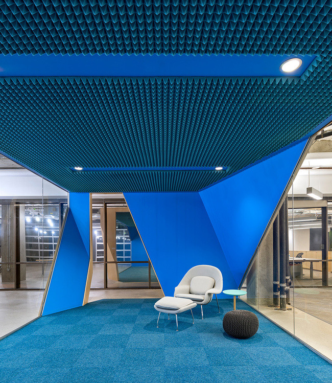 Ten top images on archinect 39 s color pinterest board for Office design utah
