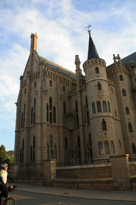City hall in the City of Astorga - it had an amazing mechanized belltower via Alexander Morley