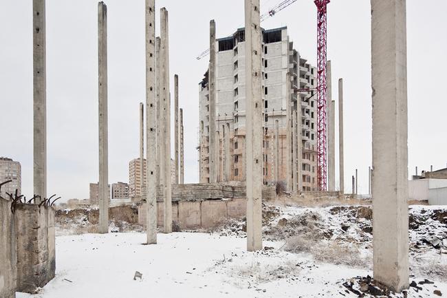 Ostalgia Yerevan, Armenia Residential Area 16th District 2011 ©Simona Rota