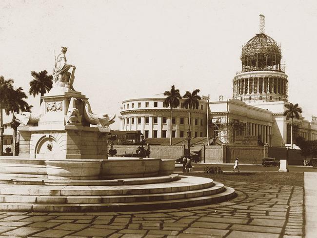 Capitolio Nacional (under construction) via Wikimedia Commons