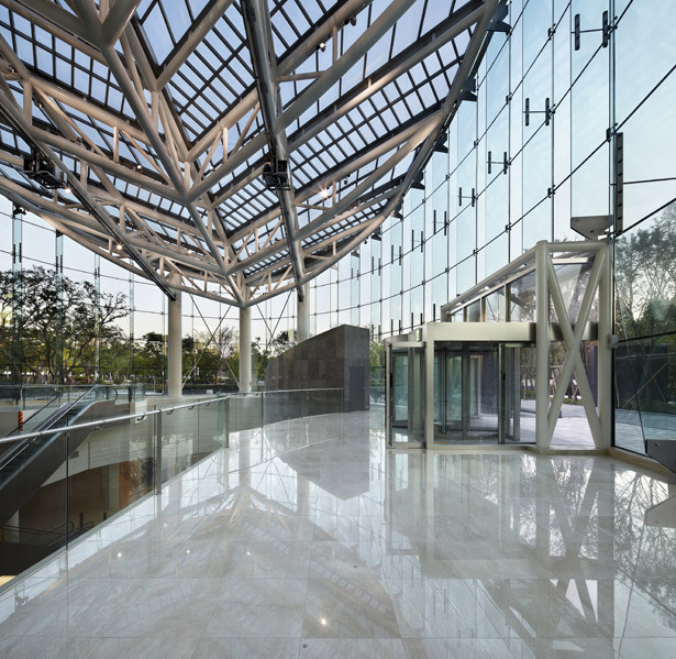 Seoul Forest Galleria Foret in Seoul, South Korea by Haeahn Architecture (Photo: Kim Yongkwan)