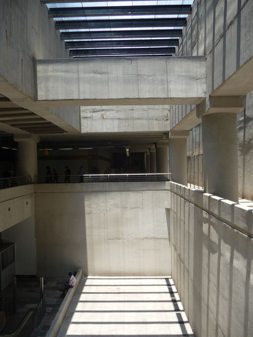 the secret modernist metro in Mexico City (line 12) via Alec Perkins.
