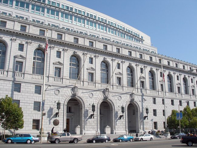 California Supreme Court in San Francisco, via Wikipedia.