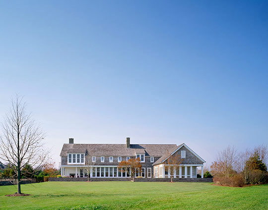Deborah Berke Partners: Gibson Lane House, Sagaponack, New York, 2011