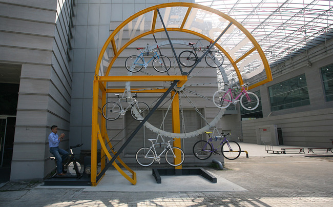 Manifesto Architecture, Bike Hanger (Courtesy of I:M)