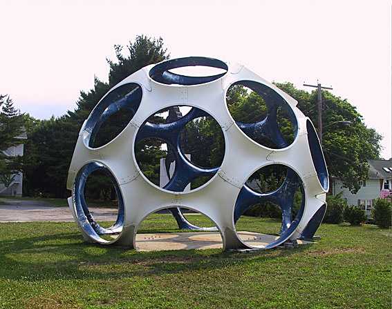 2010 - Fly's Eye Dome installed in Beacon, New York