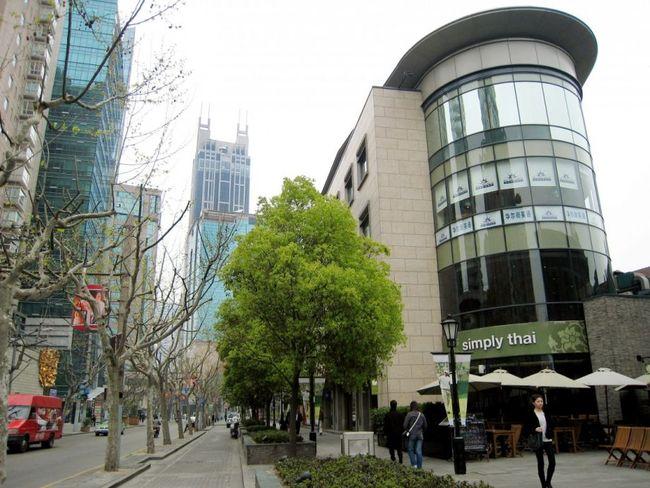 Xintiandi, a walkable retail district in Shanghai, China (AP Photo/Eugene Hoshiko)