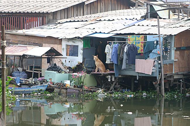 Bang Bua Canal Community Upgrading: BEFORE. Photo: © ACHR