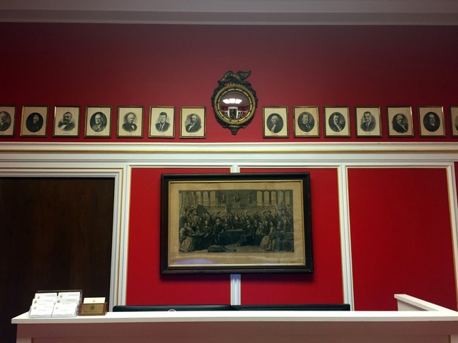 An image of the interior of Schock's office. Credit: Ben Terris/TWP