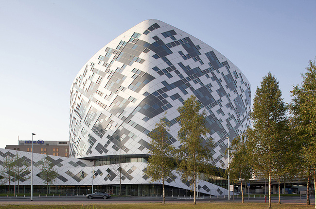 Hilton Amsterdam Airport Schiphol in Schiphol, the Netherlands by Mecanoo