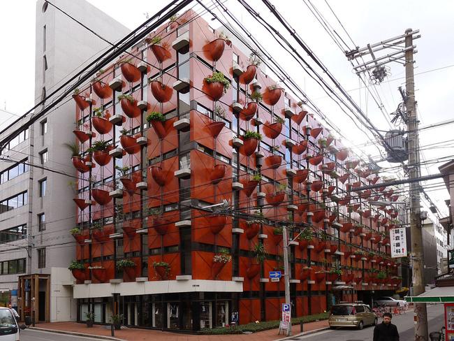 Organic Building in Osaka, Japan, by Gaetano Pesce. 1993