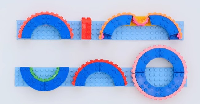 Up Your Lego Building Game With The Nimuno Loops Lego Tape Brad