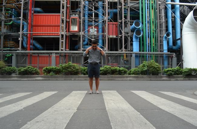 Pompidou Center, Paris, 2012