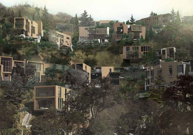 New Leaf Hills (unbuilt) by Abrahams Eyster Architecture.