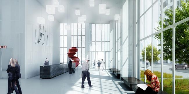 Lobby (Image: MVRDV)