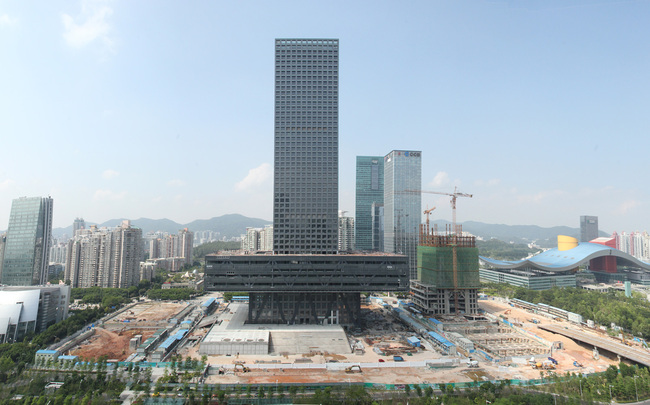 Shenzhen Stock Exchange. Image courtesy of OMA.