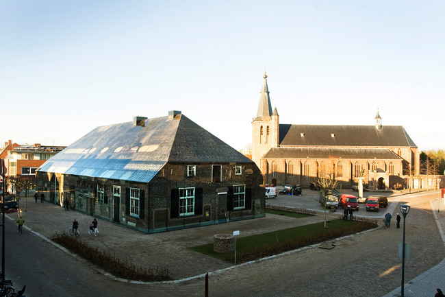 Schijndel Glass Farm was completed January 17, 2013 (Photo: Persbureau van Eijndhoven)