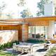Merit Award - Leila House, Decatur, GA by William Carpenter Ph.D., FAIA/Lightroom. Photo courtesy of Mali Azima