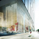 Visualization, lobby facade (Image: schmidt hammer lassen architects)