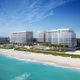 Aerial View of The Surf Club - Richard Meier & Partners