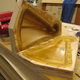 Finished mold with rubber liner
