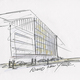 Drawing of 152 Elizabeth Street by Tadao Ando