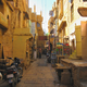The interior streets of Jaisalmer Fort