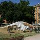 Grid (h)ome pavillon in Rome, Italy by COdesignLab, UniNa, Selve del Balzo, InArch, Casa dell'Architettura (team member: Silvia Piccione)