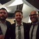 Archinectors at the Beaux Arts Ball: John Jourden, Aaron Plewke, and Quilian Riano. Photo courtesy of Aaron Plewke.