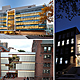 via Pratt Institute (Clockwise from L: Myrtle Hall (opened in 2010) by WASA/Studio A, The Juliana Curran Terian Design Center (opened in 2007) by Thomas Hanrahan and Victoria Meyers of hanrahan Meyers architects, and Higgins Hall Center Section (opened in 2005) by Steven Holl Architects on Pratt's Brooklyn Campus. Photo Credits (Clockwise from Left): Alexander Severin/RAZUMMEDIA, Bob Handelman, Rene Perez.