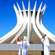 Galit Seligmann - Nuns taking a photo- Brasilia Catherdral
