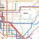 Massimo Vignelli's 1972 New York City subway map
