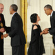 Tod Williams and Billie Tsien presented with National Medal of Arts by President Obama. Photos by Jocelyn Augustino.