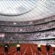Interior view, athletics setting (Image: MenoMenoPiu Architects & FHF Architectes)