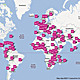 FrontlineSMS: world map
