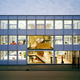 Rozenburg (The Netherlands), the new office building was completed for Qualm, a contracting firm for earthwork, road- and waterworks. The building and interior are designed by Sputnik Architecture Urbanism photo by Ruben Dario Kleimeer.