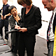 Janette Sadik-Khan signing autographs by Lian