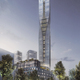SOM and Entasis' winning design, Polestar Tower, to be built in Gothenburg, Sweden. Image courtesy of SOM.