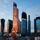 7. Mercury City (Moscow, Russia) by F. Williams, G.L. Sirota, M.M. Posokhin. Photo © Mercury Development.