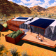 University of Nevada Las Vegas entry for Solar Decathlon 2013. Courtesy of U.S. Department of Energy.