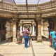 The common landing of the three entrance stairs of Adalaj Vav