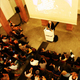 Sir Peter Cook lecture photo by Ayax Abreu